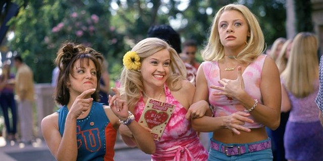"""Sorority sisters are shown in a scene from """"Legally Blonde."""""""