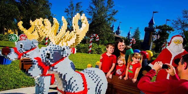 WINTER HAVEN, Fla. (Nov. 21, 2013) - LEGOLAND Florida Christmas is celebrated at the park in Winter Haven.  (PHOTO / LEGOLAND Florida, Merlin Entertainments Group, Chip Litherland)