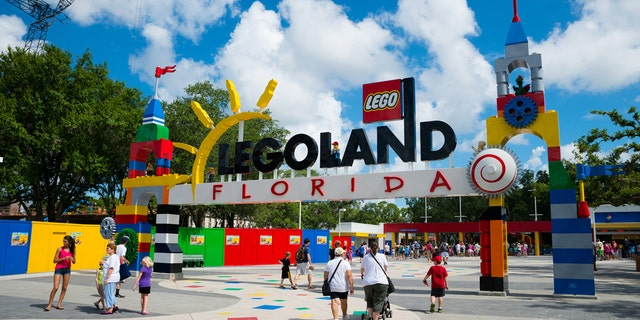One of the suspects told police he was working as a Lego builder at Merlin Entertainments, which owns Legoland Florida.