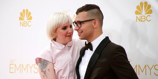 Lena Dunham and Jack Antonoff dated for five and a half years before breaking up in December, reports said.