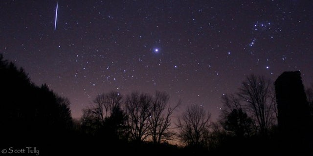 Catch the famous spring meteor shower at its peak on May 6.