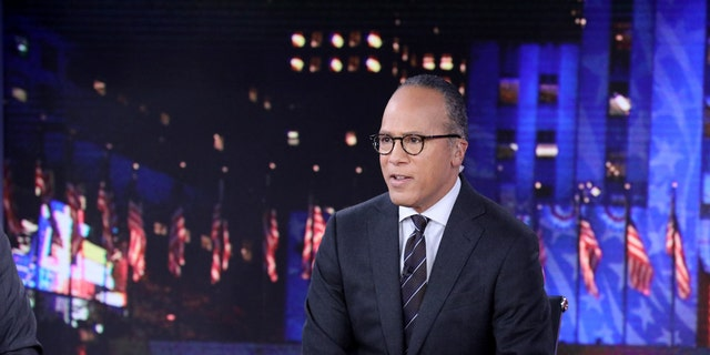 "NBC's ""Nightly News with Lester Holt"" averages 8.4 million viewers a night."