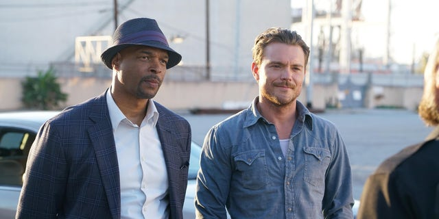 Damon Wayans with his former co-host Clayne Crawford on the FOX action series.