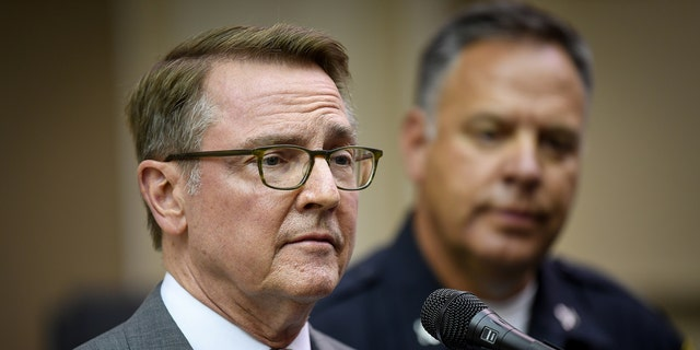 Lexington Mayor Jim Gray and Police Chief Mark Barnard are preparing for violent protests.