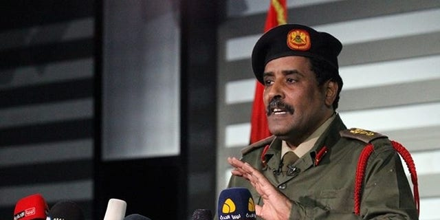 Col. Ahmed Almesmari, spokesman for the self-styled Libyan National Army (LNA).