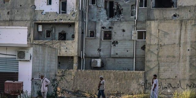 Sirte, Libya under ISIS occupation in 2016.