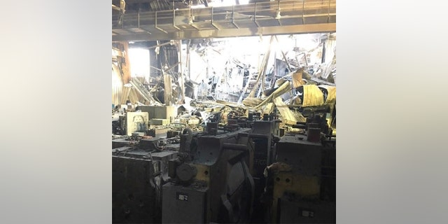 The Eaton Rapids facility was seriously damaged by the blaze.