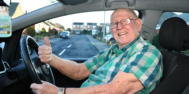 Keith Limbert first tried to get his license at age 25, but gave up.