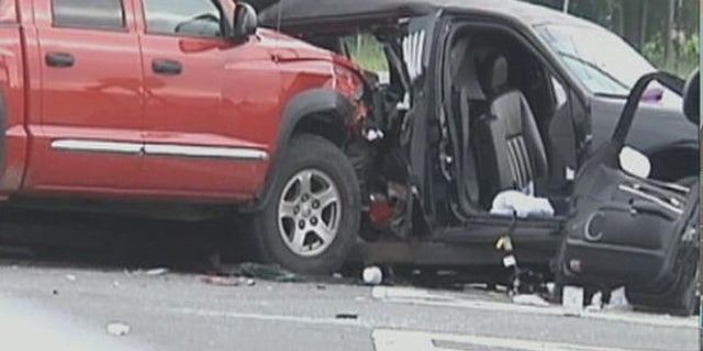 July 18, 2015: Four women at a bachelorette party in New York were killed when the limo they were riding in made a U-turn at a blinking traffic signal and collided with a truck.