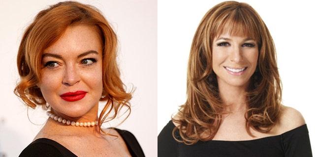 Lindsay Lohan rings in her 32nd birthday with 'RHONY' alum Jill Zarin.