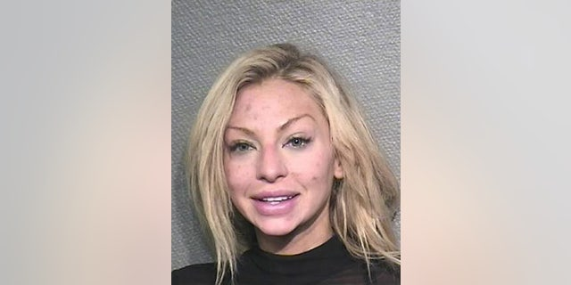 Lindy Lou Layman, 29, is accused of causing more than $300,000 in damages to artwork at the home of a prominent lawyer.