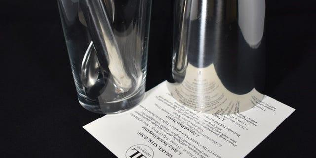 A complete tool set for aspiring bartenders.