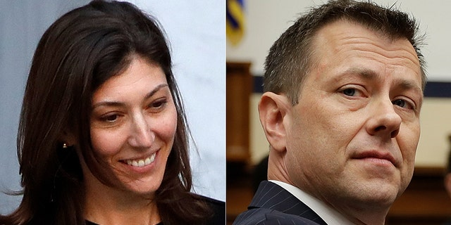Former FBI Lawyer Lisa Page and fired FBI Special Agent Peter Strzok exchanged anti-Trump text messages during their time at the bureau.