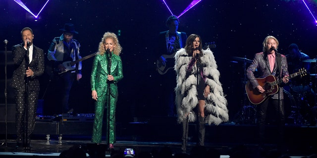 "Little Big Town sang Elton John's ""Rocket Man"" at the ACMs in celebration of the icon's new album, ""Restoration,"" which features country singers covering his songs."