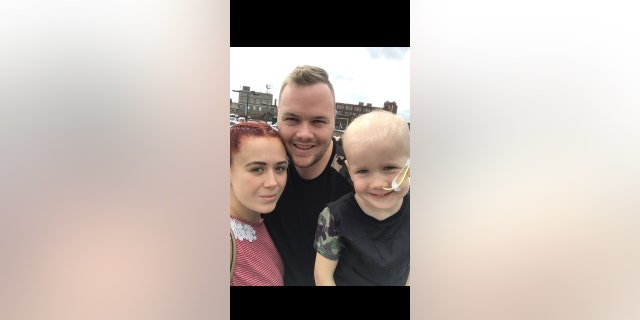 """26-year old mother Fiona Cripps said """"the relief was unreal"""" when doctors said all three children were a match."""
