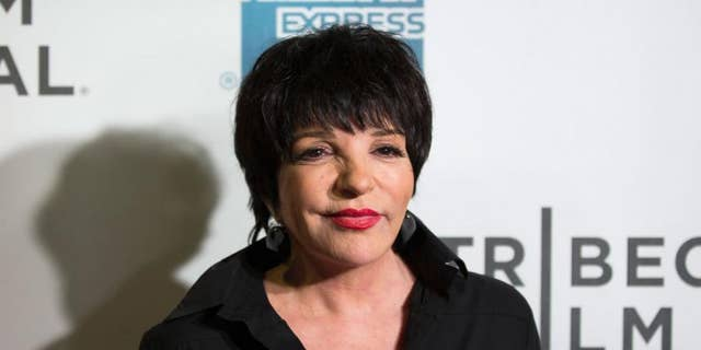 Liza Minnelli gave a limited comment about 'Judy,' the biopic about her late mother, Judy Garland.