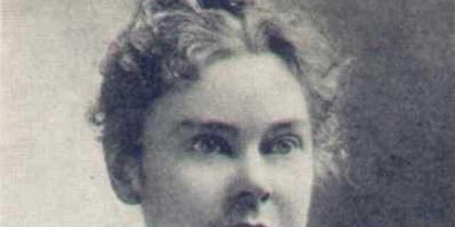 Lizzie Borden in an undated image.