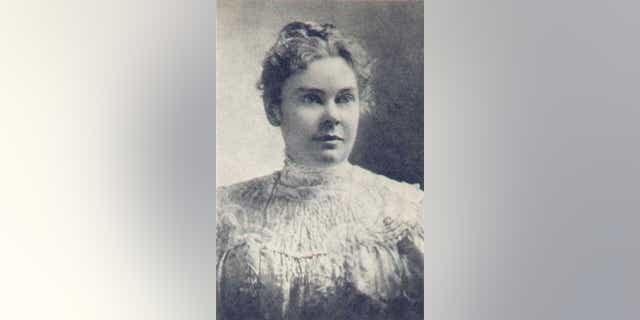Lizzie Borden in an undated image.