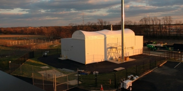 Space fence testing facility in New Jersey. (Lockheed Martin)
