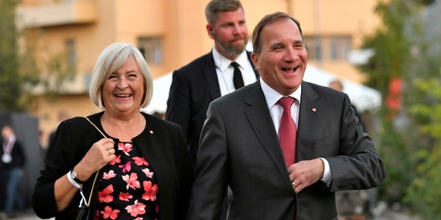 Swedish Prime Minister Stefan Lofven has been in office since 2014.