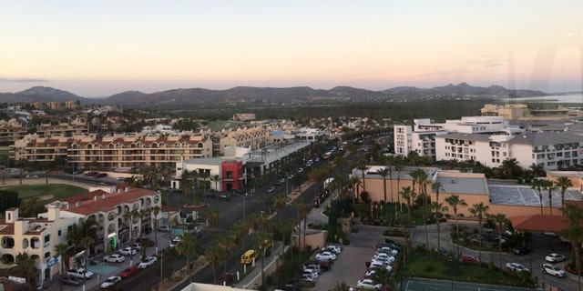 San Jose del Cabo, view of the resorts area