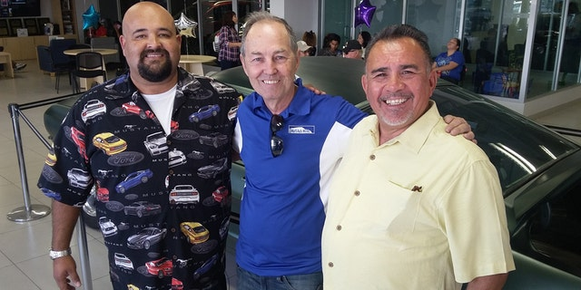 Ralph Garcia, Jr., Kevin Marti, and Hugo Sanchez