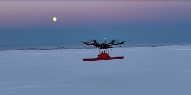 A World War II airplane that was lost in Greenland decades ago has been found deep beneath glacial ice. The warplane was part of the so-called Lost Squadron, and was first spotted by an aerial drone, though a ground-based survey confirmed the location. Searchers hope to eventually melt the ice and recover the warplane. Credit: Hot Point Solutions