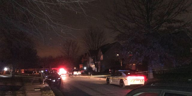 A female deputy suffered a gunshot wound to the leg and another male deputy suffered gunshot wounds to his arm and both legs, police said.