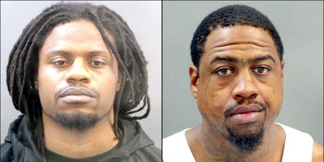 Brandon Cross, left, and Terrance Williams have been charged in the June 2017 fatal shooting of Gentrail Wafford in St. Louis.
