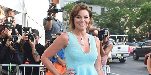 Luann de Lesseps appears at an event.