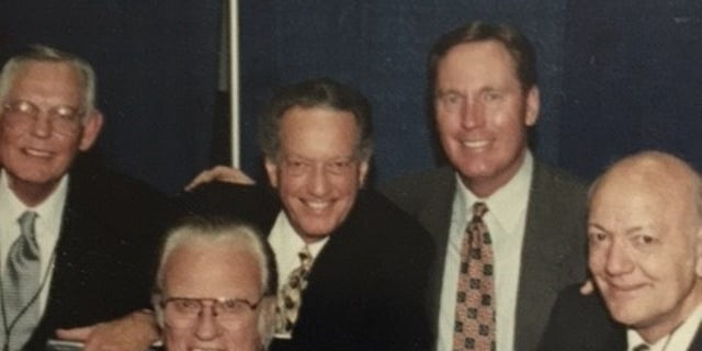 Rev. Billy Graham and Max Lucado, 1997 Crusade in San Antonio