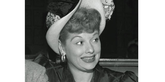 A young Lucille Ball.