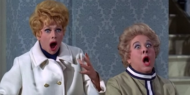 "Lucille Ball (left) greatly admired her on-screen sidekick Vivian Vance, who starred as frumpy Ethel Mertz in ""I Love Lucy."""