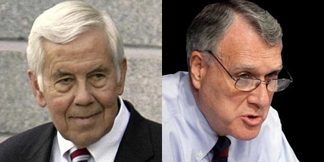 Sen. Richard Lugar, left, and Sen. Jon Kyl