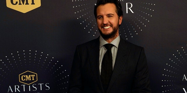 Luke Bryan seen at 2017 CMT Artists of the Year at Schermerhorn Symphony Center on Wednesday, Oct. 18, 2017, in Nashville, Tenn.