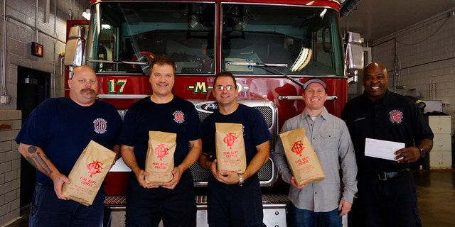 """""""There's very little out there for military and veterans, but there's nothing for firefighters and paramedics who have been injured. That's really what we're going to be focused on,"""" said Schneider of the Fire Dept. Coffee Foundation."""