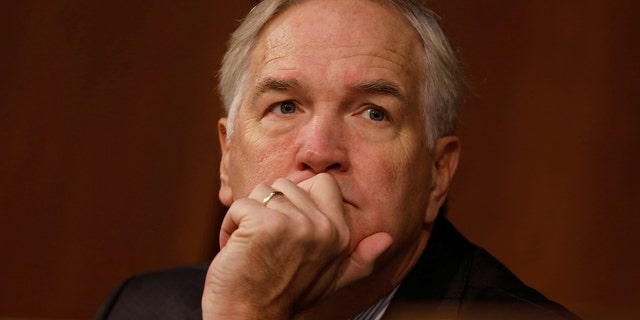 Sen. Luther Strange (R-AL) looks on during a hearing of the Senate Armed Services Committee on Capitol Hill in Washington March 9, 2017.  REUTERS/Aaron P. Bernstein - RC16E9F1A070