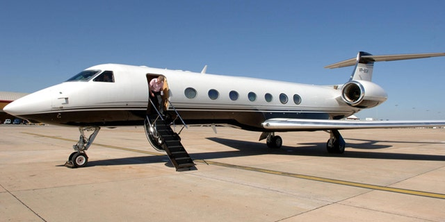 U.S. immigration authorities routinely use luxury private jets like this Gulfstream to deport undocumented immigrants.