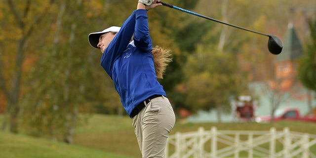 Emily Nash won the Central Mass. Division 3 Golf Tournament but won't take home the trophy.