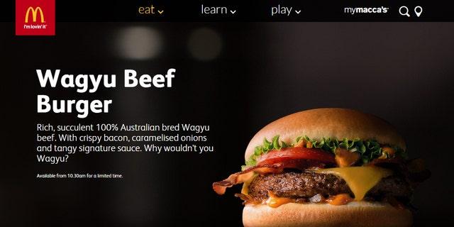 McDonald's Australia debuts Wagyu beef burger, but customers slam