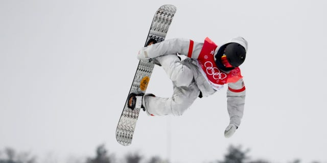 Kyle Mack earned a silver medal during the men's big air snowboarding competition.