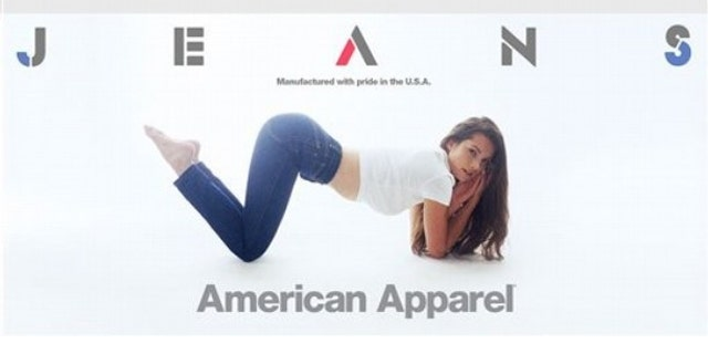 A new website helps users find American-made products, such as American Apparel's new 'Made in USA' line of denim.