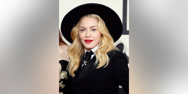 Madonna arrives at the 56th annual Grammy Awards in Los Angeles, California Recently, the celebrity drew a lot of attention with her new look outside of a NYC church (Reuters)