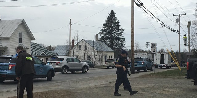 A sheriff's deputy was shot and killed early Wednesday in Norridgewock, Maine.