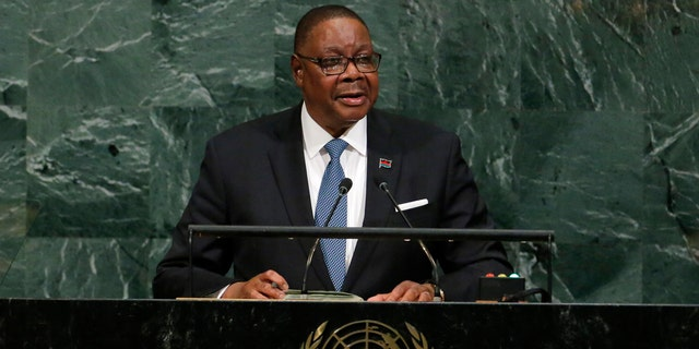Malawi President Arthur Peter Mutharika is facing a rash of vampire rumors in his country.
