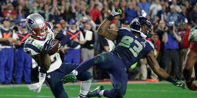 Malcolm Butler's interception in Super Bowl 49 sealed the game for the Patriots.