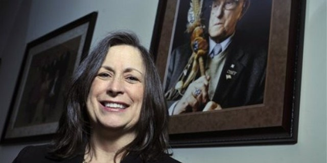 Lynn Malerba is chief of the Mohegan tribe, which won $54 million in federal money. (AP)