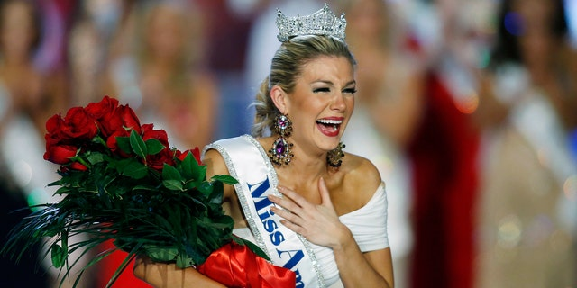 2013 Miss America winner Mallory Hagan featured prominently in the emails.