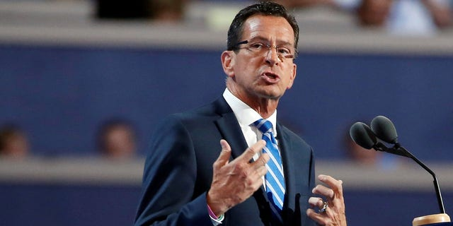 Connecticut Democratic Gov. Dan Malloy, who is not running for re-election, is deeply unpopular in the liberal state.