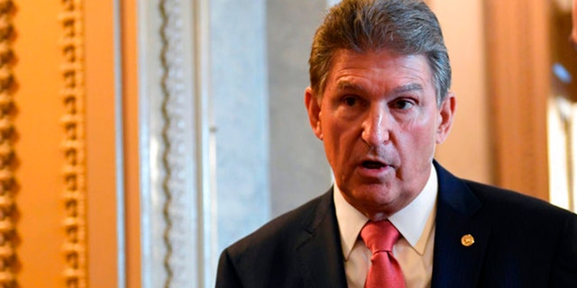 """Sen. Joe Manchin, D-W.Va., is holding roundtable discussions, trying to figure out whether or not constituents want him to support President Trump's latest Supreme Court nominee – in a state Trump won by 42 points in 2016. """"He's very popular in West Virginia,"""" Manchin said about President Trump. """"And I have not done too bad myself."""""""